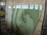 ヒスイ緑のオニックスの平板のタイル