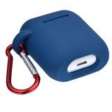 버클과 반대로 분실된 결박을%s 가진 Apple Airpods 예를 위한 최신 실리콘 방어적인 상자
