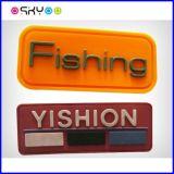 Custom 3D o logotipo de marca da etiqueta de Chapéus de borracha de silicone de PVC