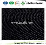 Custom dissipateur thermique en aluminium anodisé noir pour éclairage de scène.