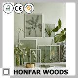 北欧様式装飾のための自然な木映像の絵画フレーム