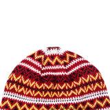 ジャカード帽子のKinttedのブランク多彩な帽子のUniexの可逆冬の帽子