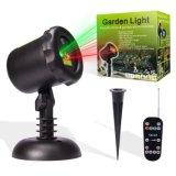 En el exterior de la Navidad láser Proyector de luz con mando a distancia inalámbrico