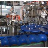 Ottleの自動ガラス飲料水は/静かに飲み物/熱いジュースの満ちるびん詰めにする生産設備/生産ラインを炭酸塩化した