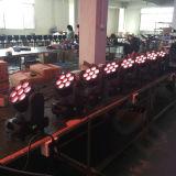 Indicatore luminoso capo mobile della lavata 7X10W del fascio LED
