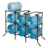 Nuevo estante de acero del sostenedor del almacenaje de la botella de agua para la botella 6 (CJ-B1229)