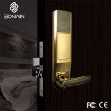 Fechadura da porta do hotel inteligente com um graminho e cilindro de segurança