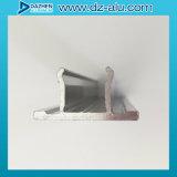 Profil Faire des emplettes-Avant en aluminium avec la couleur anodisée par fini de moulin de couche de poudre
