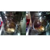 Máquina do gelado da fruta da parte superior de tabela do aço inoxidável do certificado do Ce