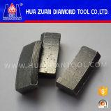중국 다이아몬드 세그먼트 지붕 모양 다이아몬드 코어 교련 세그먼트