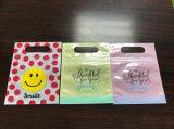 Bolsas de plástico de embalaje de regalo personalizado