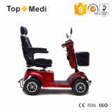 """""""trotinette"""" da mobilidade da potência Tew205 com odómetro e mola Shock-Absorbing para pessoas idosas"""