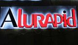 Lettere chiare acriliche superiori personalizzate del segno Backlit 3D LED dell'acciaio inossidabile di vendita