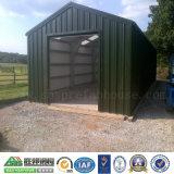 Schnelle Installations-Grün-Stahlkonstruktion-vorfabriziertgarage