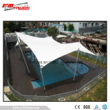 Bonne piscine avec une structure de site d'ouverture du châssis de la membrane