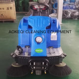 道掃除人の床のクリーニング機械乗車