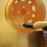 カスタマイズされた旧式な銅のエポキシポリエステル粉のペンキによって槌で打たれるしわの粉のコーティング