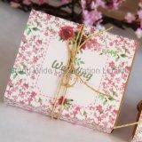 Custom свадьбы в сложенном виде хранения картонную упаковку бумаги для печати Подарочная упаковка