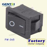 La seguridad 2pin 6A 250VAC impermeabiliza el interruptor de eje de balancín T85