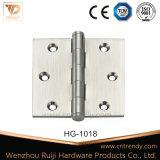 Cerniera d'ottone solida del ferro ss delle entrate principali di alta qualità (HG-1022)
