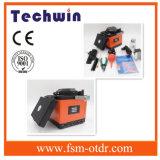 Splicer precisamente indicado da fusão ótica do Splicer Tcw-605 da fibra de Techwin