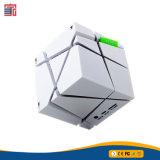 Altoparlante blu di Bluetooth del dente personalizzato radio portatile del cubo del quadrato magico del LED mini