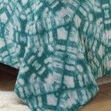 綿Blue&Green (DO6058)の回転式プリントキルト
