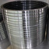 La jaula de acero de grandes dimensiones del retén de aceite de goma