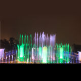 大きいサイズのタンポポの長方形LEDの屋外の音楽的なダンスの噴水