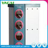Conecte o suporte de exposições de papel personalizado Visor de chão de fábrica em Rack