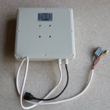 860-960MHz de frecuencia de la etiqueta UHF RFID Reader 8dBi Antena integrada de UHF de largo alcance