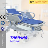 Thr-111 Hospital Luxurious Small channel-and-Fall Transfer Stretcher
