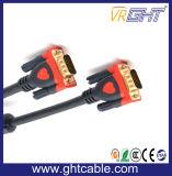 Mannelijke/Mannelijke VGA Kabel van uitstekende kwaliteit 3+9 voor Monitor/Projetor