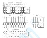 pH: rechte Stijl Drie van 2.54mm Rechte Speld van de Schakelaar van de Speld van Rijen de Vrouwelijke/Mannelijke