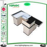Control electrónico automático de mostrador con la correa