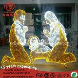 2017 het Licht van de Trog van de geboorte van Christus Scene Luces DE Navidad Christmas