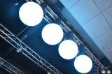 Der Qualitäts-anhebende Kugel wasserdichtes DMX Stadiums-magische Kugel-Beleuchtung RGB-LED