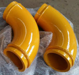 구체 펌프는 납품 Putzmeister를 위한 쌍둥이 벽 팔꿈치를 분해한다