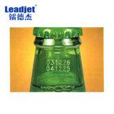 Máquina automática da codificação do grupo do frasco da numeração da máquina da codificação do laser do CO2 do código da tâmara da venda quente de Leadjet