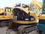使用された幼虫308cのクローラー掘削機猫8tonの掘削機