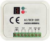 2-CH Multi Frequency 300-868Мгц торговой маркой совместимый приемник для Бфрт Faac пульты дистанционного управления еще не402PC-Mf