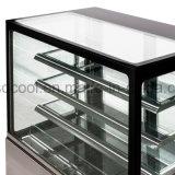 48 pulgadas de largo torta refrigerada vitrina con Embraco / compresor Danfoss