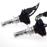 X3 차 LED 헤드라이트 전구 H11 9005 H9 H7 H4 50W 6000lm 크리 말은 1개의 Csp LED Headlamp 안개등 3000K 6000K 8000K 12V에서 모두를 잘게 썬다