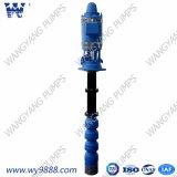 En varias etapas de turbina Vertical de eje largo grupo de la bomba de agua de pozo profundo