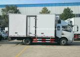 Dongfeng 6 колес Refrigerated тележка грузовика 6 тонн тележки холодильника