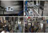 Una máquina que capsula principal automática Qdx-1 para la mantequilla de cacahuete