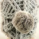 Пользуйтесь функцией настройки пользовательского моды Qunlity теплой зимой женщин Beanie Red Hat