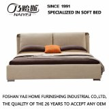 Кровать ткани цвета кофеего для мебели G7008 гостиной