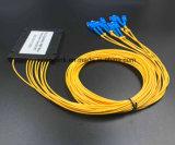 Gpon 원거리 통신에 의하여 착색되는 섬유 1X8 PLC 쪼개는 도구 시스템 PLC 쪼개는 도구