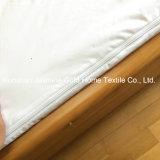 Encasement imperméable à l'eau de matelas de tirette de double du tissu 95GSM tricoté par polyester 100%